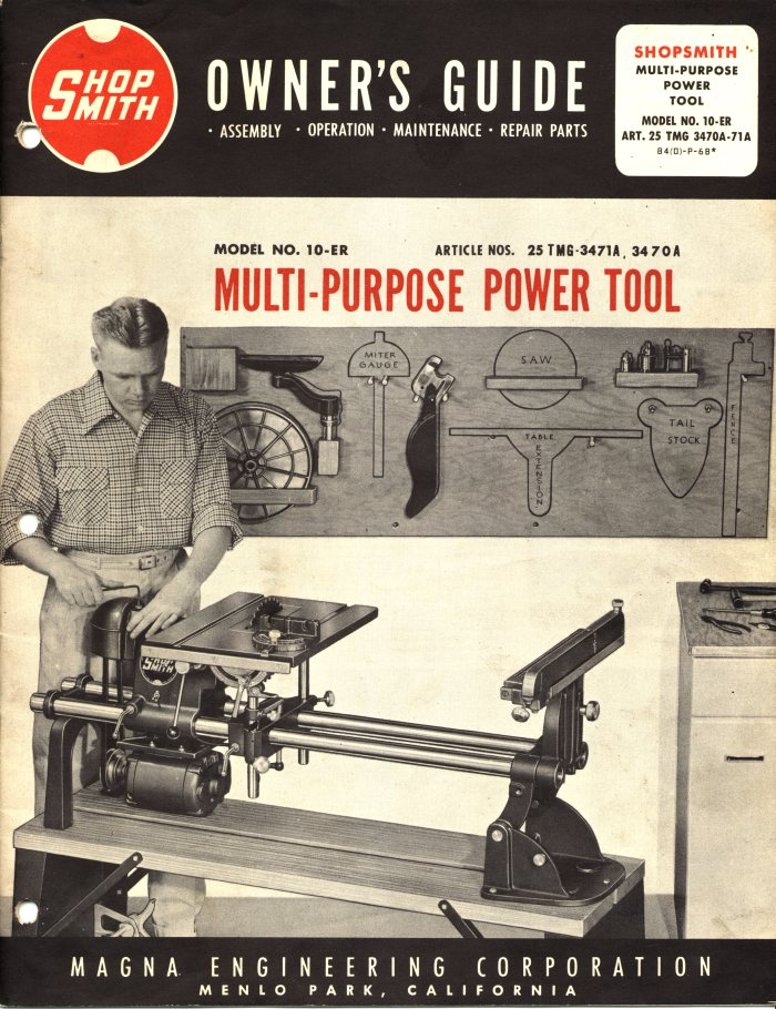 Pdf download | incra miter v120 shopsmith edition user manual (1 page).